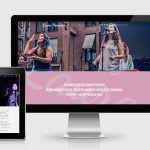 Web oficial de la cantante Laura Honrubia